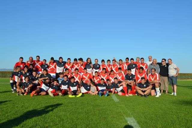 Fin temporada escuela de rugby de Totana, Foto 1
