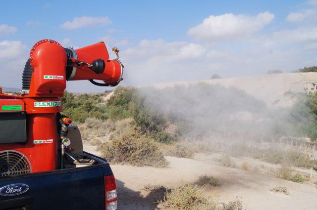 Control de mosquitos en el cauce del río Guadalentín, Foto 2