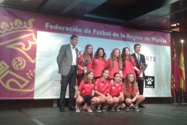 La totanera Macarena González en la Gala fin de temporada de la Federación de Fútbol, Foto 3