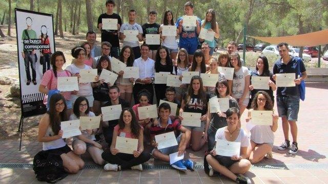 Los cinco corresponsales juveniles de Totana finalizan con éxito este programa, Foto 1