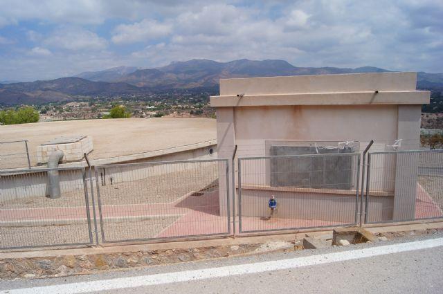 La Mancomunidad de Canales del Taibilla procederá este miércoles, día 9 de julio, a la limpieza del depósito de agua de San José, Foto 2