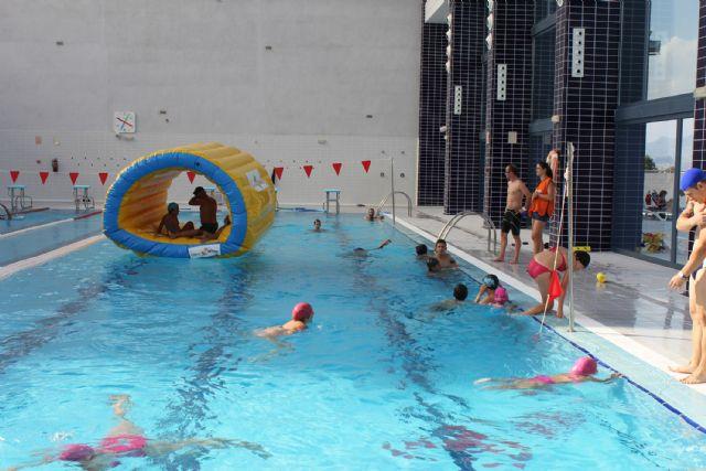 Las torres de cotillas los cursos estivales de nataci n for Piscina cubierta alcantarilla