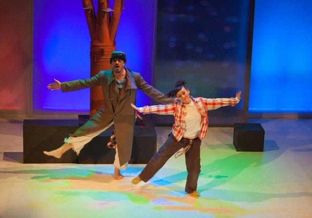 """Esta noche tendrá lugar la representación de la obra de teatro """"Fly, el hombre pájaro"""", Foto 1"""