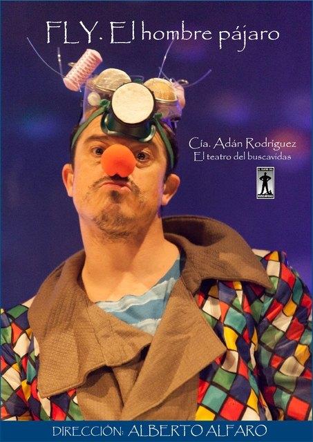 """Esta noche tendrá lugar la representación de la obra de teatro """"Fly, el hombre pájaro"""", Foto 2"""
