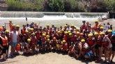 Cerca de 100 personas participaron en el descenso del río Segura organizado por la Hdad. de Jesús en el Calvario