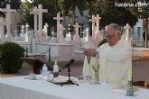 """Tradicional Misa en el Cementerio Municipal de Totana """"Nuestra Señora del Carmen"""" con motivo de la festividad de la Virgen del Carmen"""