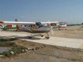 El Aeroclub Totana organizó una prueba de navegación a estima