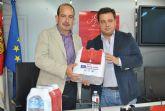 Las botellas de agua mineral Aquadeus promocionan la Feria de Albacete 2014