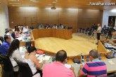 El Pleno aborda el levantamiento de la carga para ceder una parcela a la Comunidad de Regantes para la construcción de una infraestructura destinada a la recogida de aguas pluviales