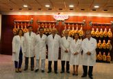 El presidente Garre agradece a Grupo Fuertes su contribuci�n a la creaci�n de empleo en la Regi�n de Murcia
