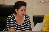La Corporación municipal da lectura a un manifiesto institucional, antes de comenzar el Pleno de julio, en defensa de la dignidad del pueblo palestino