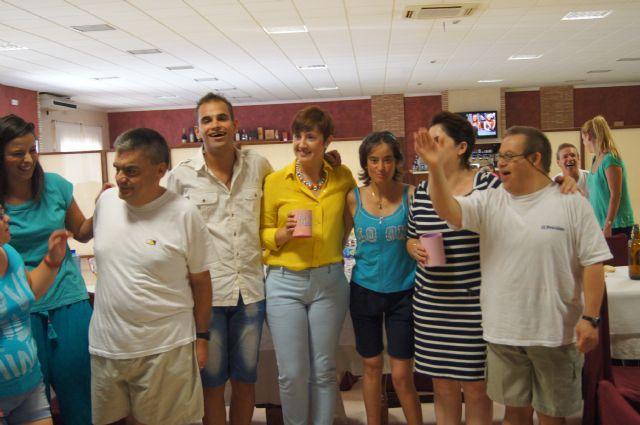 Los alumnos del Centro de Día José Moyá clausuran las actividades del curso, con un emotivo acto, Foto 3