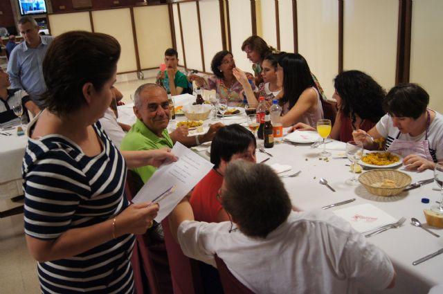 Los alumnos del Centro de Día José Moyá clausuran las actividades del curso, con un emotivo acto, Foto 5