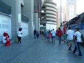 Cerca de treinta niños disfruta de una jornada de convivencia en las instalaciones de la Fundación Real Madrid