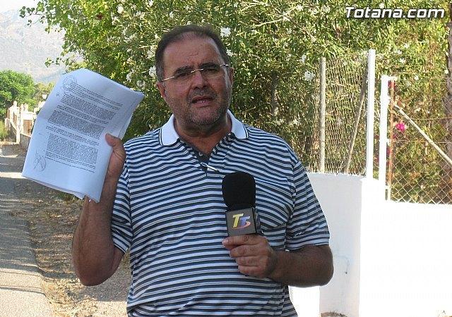 IU Verdes exige a la alcaldesa y al Equipo de Gobierno que solucionen los problemas de abastecimiento de agua en los Huertos, Foto 1