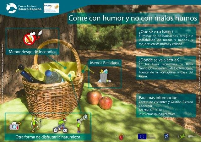Llevarán a cabo mejoras en áreas recreativas del Parque Regional de Sierra Espuña a partir de septiembre, Foto 1