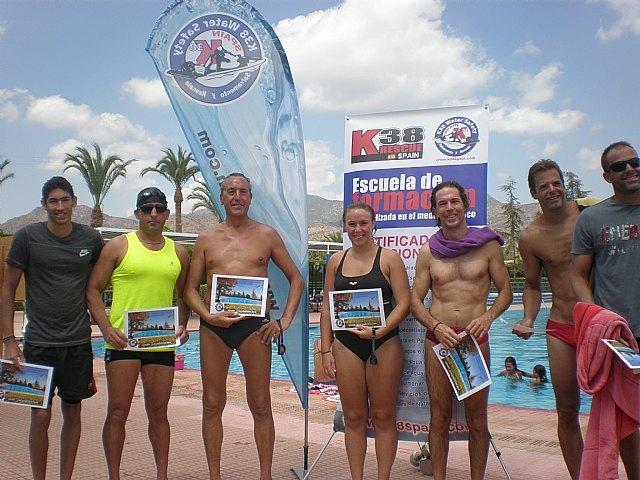 17 nadadores participaron en la segunda travesia a nado de Totana