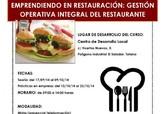 El Centro de Desarrollo Local, en el marco del Plan de Empleo, realiza un curso gratuito sobre gestión operativa integral del restaurante