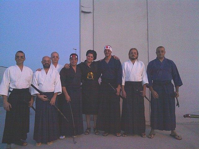 Miembros del Club Aikido Totana participan en el rodaje de las Aventuras de Moriana, Foto 1