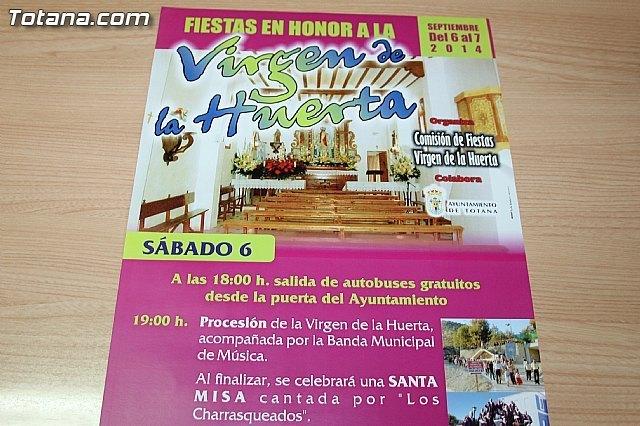 La alcaldesa pedánea de La Huerta invita a los vecinos de Totana a participar en los festejos que se celebran este fin de semana, Foto 2