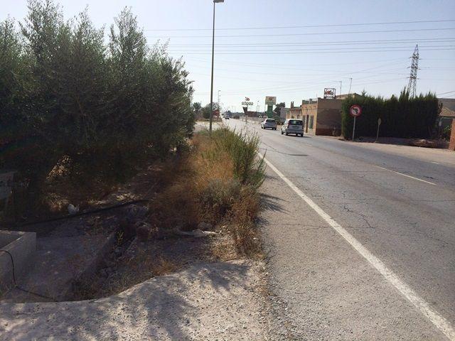 Denuncian que la carretera comarcal Totana-Mazarrón es una vía secundaria de las más peligrosas, Foto 2