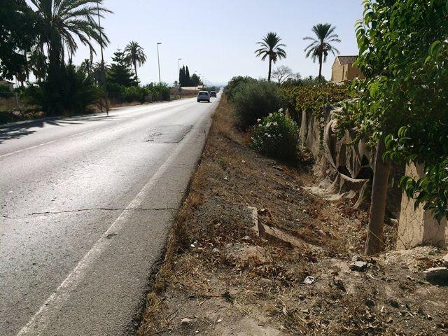 Denuncian que la carretera comarcal Totana-Mazarrón es una vía secundaria de las más peligrosas, Foto 3