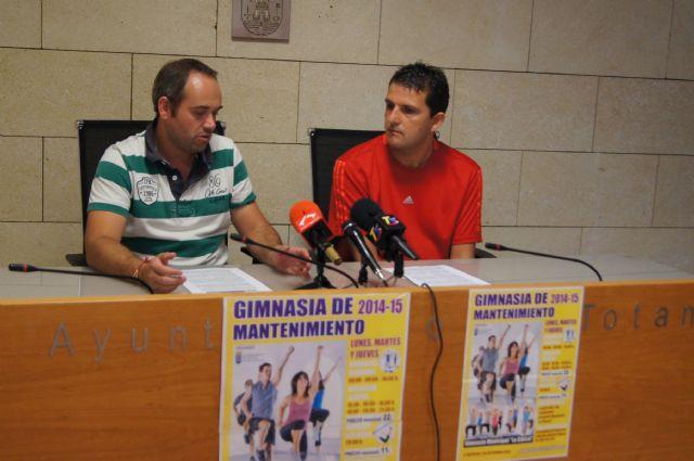 La concejalía de Deportes presenta el programa de Gimnasia de Mantenimiento para adultos, personas mayores y discapacitados, Foto 1