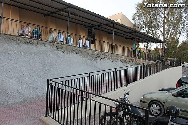 El ayuntamiento mejora la accesibilidad a la ermita de La Huerta con la construcción de un paso peatonal, Foto 1