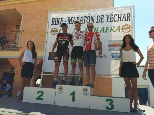 Andrés Plazas del C.C. Santa Eulalia sube al podium en el Campeonato Regional de Maratón BTT, Foto 1