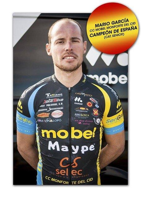 El totanero Mario García triunfa en los Campeonatos de España Ciclismo celebrados Mazarrón, Foto 2