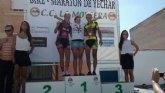 La corredora de la A. D. Peña Las Nueve Subcampeona del Campeonato Regional de Bike Maratón de la Región de Murcia