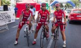 Los ciclistas del CC Santa Eulalia, muy combativos en los Campeonatos de España Master de Ciclismo en Ruta