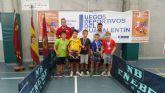 Éxito del tenis de mesa mazarronero en el Open Ciudad de Lorca