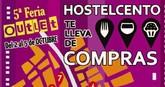 HOSTELCENTO promueve una iniciativa para dinamizar sus locales durante la celebración de la 5ª Feria Outlet