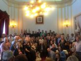 Las ciudades hermanas de Totana y Mérida celebran un acto institucional en la capital extremeña con motivo de la celebración del Trecenario de Santa Eulalia