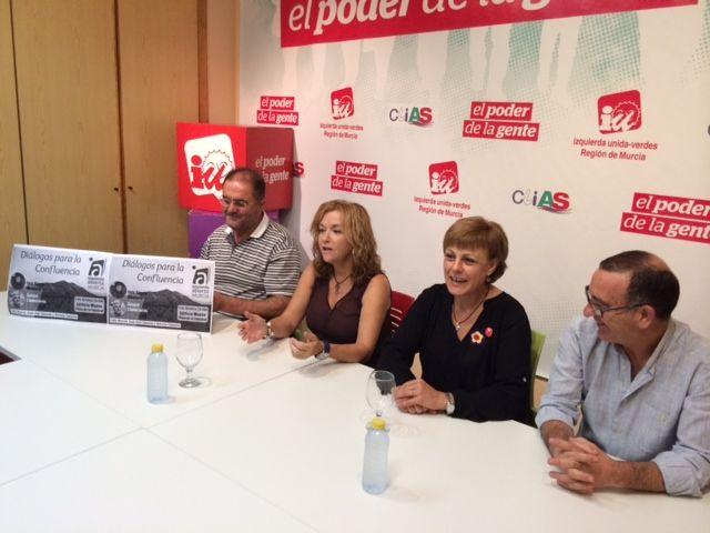 Izquierda Abierta de la Región de Murcia se presenta a la sociedad murciana, Foto 1