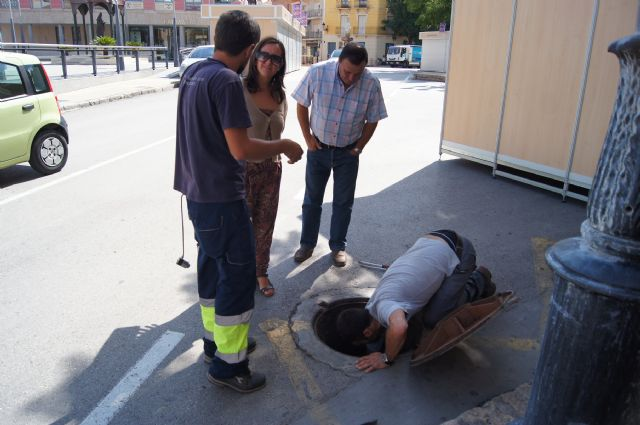 El Servicio Municipal de Aguas lleva a cabo una campaña de búsqueda de fugas y mejora de la eficiencia de las redes públicas de agua potable en el casco urbano, Foto 4