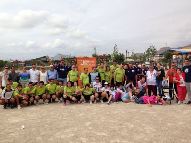 Los Juegos del Guadalentín celebran su primer Encuentro Deportivo de alumnos de centros de educación especial, Foto 1