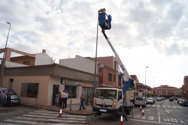 El Ayuntamiento de Totana sustituye 6.400 puntos de luz del alumbrado público para mejorar la eficiencia energética, Foto 2