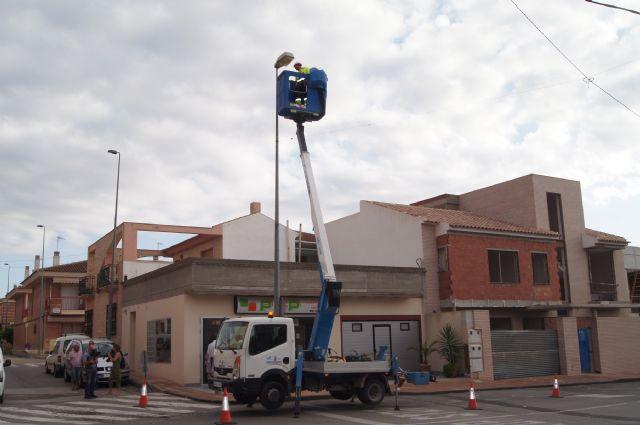 El Ayuntamiento de Totana sustituye 6.400 puntos de luz del alumbrado público para mejorar la eficiencia energética, Foto 3