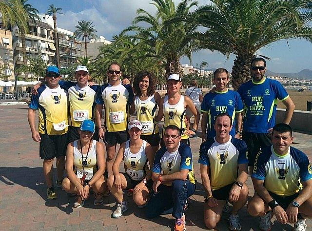 Atletas del Club Atletismo Totana participaron en la 4º Media maratón y 10 km Bahía de Mazarrón, Foto 1