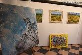 La sala municipal Gregorio Cebrián acoge la muestra colectiva de pintores murcianos Luz positiva