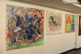 La sala municipal Gregorio Cebri�n acoge la muestra colectiva de pintores murcianos Luz positiva - 9