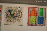 La sala municipal Gregorio Cebri�n acoge la muestra colectiva de pintores murcianos Luz positiva - 11