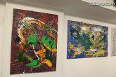 La sala municipal Gregorio Cebri�n acoge la muestra colectiva de pintores murcianos Luz positiva - 12