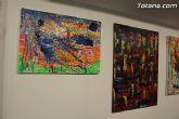 La sala municipal Gregorio Cebri�n acoge la muestra colectiva de pintores murcianos Luz positiva - 15