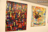 La sala municipal Gregorio Cebri�n acoge la muestra colectiva de pintores murcianos Luz positiva - 17