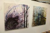 La sala municipal Gregorio Cebri�n acoge la muestra colectiva de pintores murcianos Luz positiva - 23