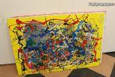 La sala municipal Gregorio Cebri�n acoge la muestra colectiva de pintores murcianos Luz positiva - 32