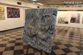 La sala municipal Gregorio Cebri�n acoge la muestra colectiva de pintores murcianos Luz positiva - 34